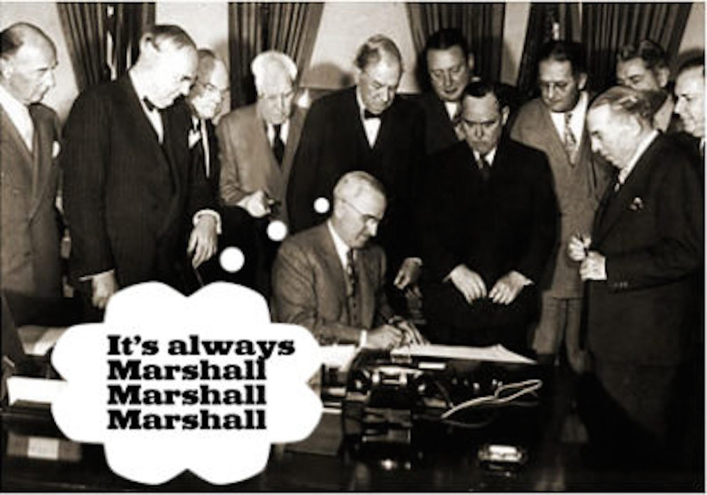 M is for Marshall Plan