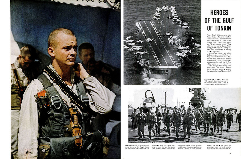 August 1964: The Gulf of Tonkin Incident