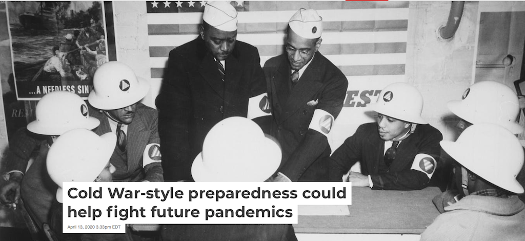 Cold War-Style Preparedness Could Help Fight Future Pandemics