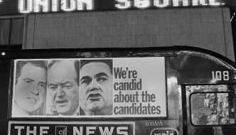 1968 presidential candidates