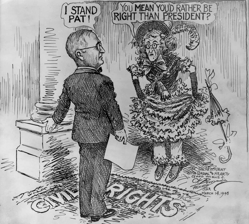 1948 Election: Political Cartoons and Presidential Campaigns